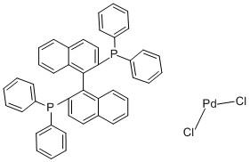 [(R)-(+)-2,2′-Bis(diphenylphosphino)-1,1′-binaphthyl]palladium(II) chloride CAS 115826-95-4