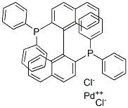 [(R)-(+)-2,2′-BIS(DIPHENYLPHOSPHINO)-1,1′-BINAPHTHYL]PALLADIUM(II) CHLORIDE CAS 127593-28-6