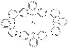 Tetrakis(triphenylphosphine)palladium CAS 14221-01-3