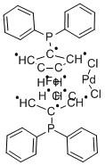 [1,1′-Bis(diphenylphosphino)ferrocene]dichloropalladium(II) CAS 72287-26-4