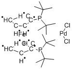 1,1′-Bis (di-t-butylphosphino)ferrocene palladium dichloride, CAS 95408-45-0