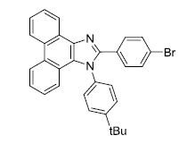 2-(4-bromophenyl)-1-(4-tert-butylphenyl)-1H-phenanthro[9,10-d] imidazole CAS WENA-0058