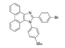 2-(4-bromophenyl)-1-(4-tert-butylphenyl)-1H-phenanthro[9,10-d] imidazole CAS WENA-0058