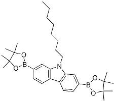 9-Octyl-2,7-bis(4,4,5,5-tetramethyl-1,3,2-dioxaborolan-2-yl)-9H-carbazole CAS 406726-92-9
