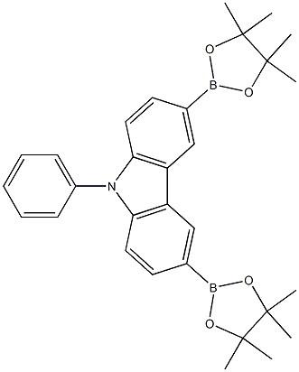 9-Phenyl-3,6-bis(4,4,5,5-tetramethyl-1,3,2-dioxaborolan-2-yl)-9H-carbazole CAS 618442-57-2