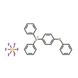 4-Thiophenyl phenyl diphenyl sulfonium hexafluoroantimonate CAS 71449-78-0