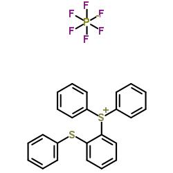 Diphenyl[2-(phenylsulfanyl)phenyl]sulfonium hexafluorophosphate CAS 75482-18-7