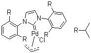 Allyl[1,3-bis(2,6-diisopropylphenyl)imidazol-2-ylidene]chloropalladium(II) CAS 478980-03-9