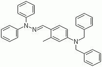 2-Methyl-4-dibenzylaminobenzaldehyde-1,1-diphenylhydrazone CAS 103079-11-4