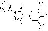2,6-Di-tert-butyl-4-(3-Methyl-1-phenyl-5-oxo-4-pyrazolidine)-2,5-cyclohexadiene-1-one CAS 153787-33-8