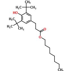 Octyl-3,5-di-tert-butyl-4-hydroxy-hydrocinnamate CAS 125643-61-0