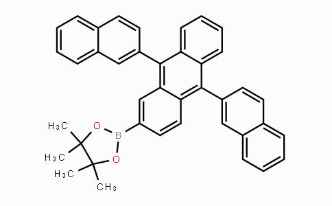 2-(9,10-di(naphthalen-2-yl)anthracen-2-yl)-4,4,5,5-tetramethyl-1,3,2-dioxaborolane CAS 624744-67-8