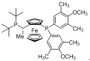 (S)-1-[(RP)-2-[Bis(4-methoxy-3,5-dimethylphenyl)phosphino]ferrocenyl}ethyldi-tert-butylphosphine CAS 849924-40-9