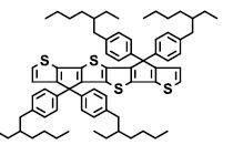 """4,4,9,9-tetrakis[4-(2-ethylhexyl)phenyl]-4,9-dihydro-thieno[3′,2′:4,5]cyclopenta[1,2-b]thieno[2"""",3"""":3′,4′]cyclopenta[1′,2′:4,5]thieno[2,3-d]thiophene CAS 1373137-96-2"""