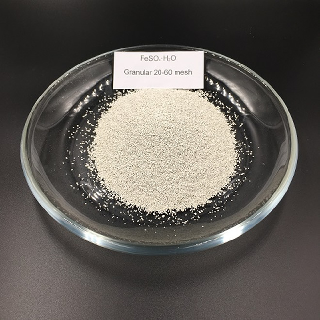 20-60 Mesh of Ferrous Sulphate Monohydrate CAS 17375-41-6