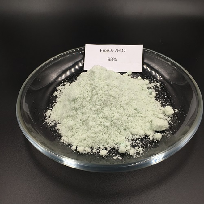 98% appearance picture of Ferrous Sulphate Heptahydrate CAS 7782-63-0