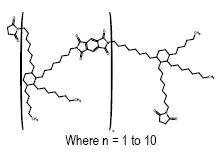 (1,2-Bis(octylmaleimide)-3-octyl-4-hexyl)cyclohexyl oligomer, BMI-9000P, Imide-extended bismaleimide oligomer CAS 921213-77-6