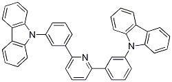 2,6-bis(3-(9H-carbazol-9-yl)phenyl)pyridine CAS 1013405-24-7