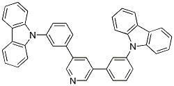 3,5-bis(3-(9H-carbazol-9-yl)phenyl)pyridine CAS 1013405-25-8