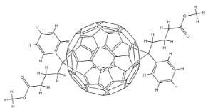 """3′,3""""-Diphenyl-3'H,3""""H-dicyclopropa[1,9:52,60][5,6]fullerene-C60-Ih-3′,3""""-dibutanoic acid 3′,3""""-dimethyl ester CAS 1048679-01-1"""