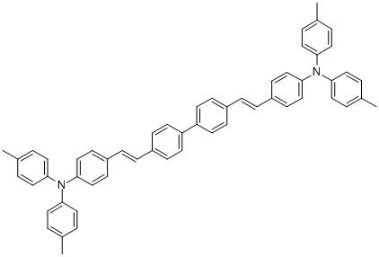 4,4′-Bis[4-(di-p-tolylamino)styryl]biphenyl CAS 119586-44-6