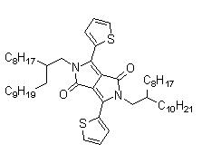 2,5-Bis(2-octyldodecyl)-3,6-di(thiophen-2-yl)pyrrolo[3,4-c]pyrrole-1,4(2H,5H)-dione CAS 1267540-02-2