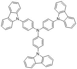 "4,4′,4""-Tris(carbazol-9-yl)-triphenylamine CAS 139092-78-7"