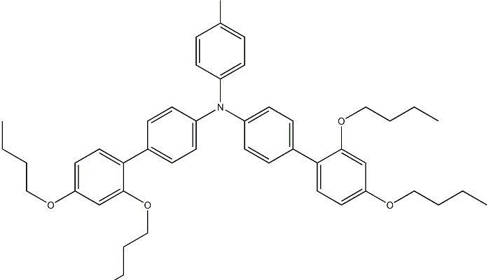 bis(2′,4′-dibutoxy-[1,1′-biphenyl]-4-yl)4-bromophenylamine CAS 1391734-75-0