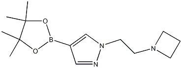 1-[2-(azetidin-1-yl)ethyl]-4-(tetramethyl-1,3,2-dioxaborolan-2-yl)-1H-pyrazole CAS 1422126-12-2