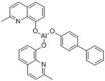 Bis(2-methyl-8-quinolinolato-N1,O8)-(1,1′-Biphenyl-4-olato)aluminum CAS 146162-54-1