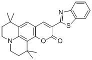 10-(2-Benzothiazolyl)-2,3,6,7-tetrahydro-1,1,7,7-tetramethyl-1H,5H,11H-(1)benzopyropyrano(6,7-8-I,j)quinolizin-11-one CAS 155306-71-1