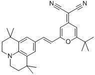 4-(Dicyanomethylene)-2-tert-butyl-6-(1,1,7,7-tetramethyljulolidin-4-yl-vinyl)-4H-pyran CAS 200052-70-6