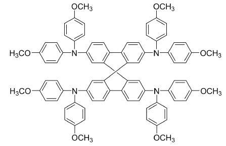 2,2′,7,7′-Tetrakis[N,N-di(4-methoxyphenyl)amino]-9,9′-spirobifluorene CAS 207739-72-8