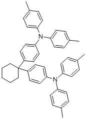 4,4′-Cyclohexylidenebis[N,N-bis(4-methylphenyl)aniline] CAS 58473-78-2