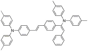 4-(Di-p-tolylamino)-4′-[(di-p-tolylamino) styryl]stilbene CAS 596103-58-1