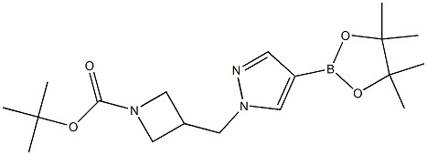 tert-butyl-3-((4-(4,4,5,5-tetramethyl-1,3,2-dioxaborolan-2-yl)-1H-pyrazol-1-yl)methyl)azetidine-1-carboxylate CAS 877399-31-0