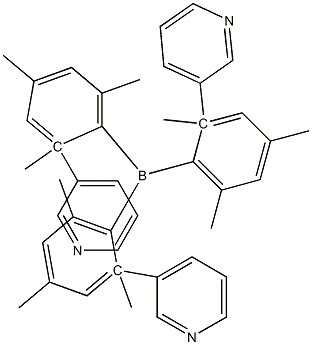 3TPYMB , Tris(2,4,6-triMethyl-3-(pyridin-3-yl)phenyl)borane CAS 929203-02-1
