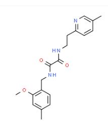 N1-2-methoxy-4-methylbenzyl-N2-5-methylpyridin-2-ylethyloxalamide CAS 745047-94-3