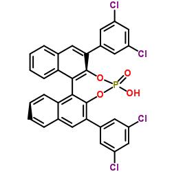 2,6-Bis(3,5-dichlorophenyl)dinaphtho[2,1-d:1′,2′-f][1,3,2]dioxaphosphepin-4-ol 4-oxide CAS 1374030-20-2
