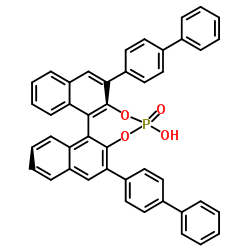 2,6-Di(4-biphenylyl)dinaphtho[2,1-d:1′,2′-f][1,3,2]dioxaphosphepin-4-ol 4-oxide CAS 874948-61-5