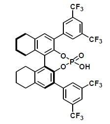 S-3,3′-bis((3,5-bis(trifluoroMethyl)phenyl)-5,5′,6,6′,7,7′,8,8′-octahydro-1,1′-binaphthyl-2,2′-diyl hydrogenphosphate CAS WICPC00001