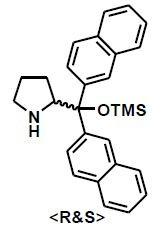 2-(di(naphthalen-2-yl)((trimethylsilyl)oxy)methyl)pyrrolidine CAS WICPC00027