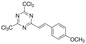 2-(4-Methoxystyryl)-4,6-bis(trichloromethyl)-1,3,5-triazine CAS 42573-57-9