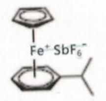 (eta-cumene)-(eta-cyclopentadienyl)iron(II) hexafluoroantimonate CAS 100011-37-8