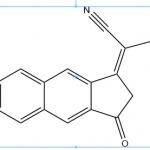 2-(6,7-difluoro-3-oxo-2,3-dihydro-1H-cyclopenta[b]naphthalen-1-ylidene)malononitrile CAS OPVNA-0001