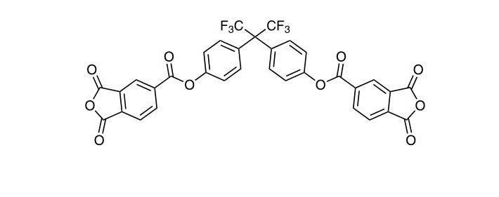 (Perfluoropropane-2,2-diyl)bis(4,1-phenylene)bis(1,3-dioxo-1,3- CAS 98180-50-8