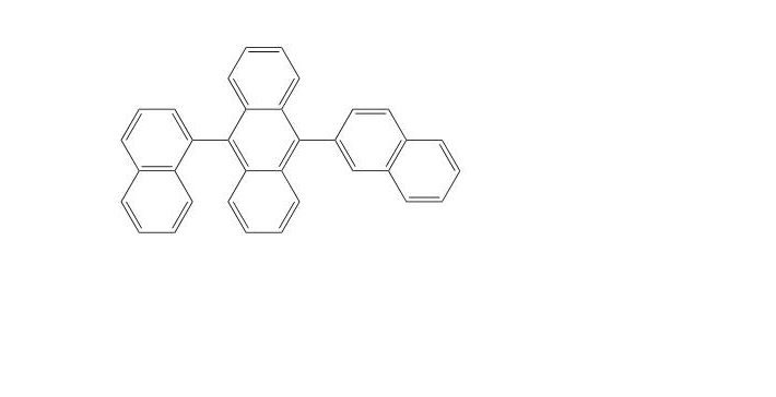9-(Naphthalen-1-yl)-10-(naphthalen-2-yl)anthracene CAS 855828-36-3