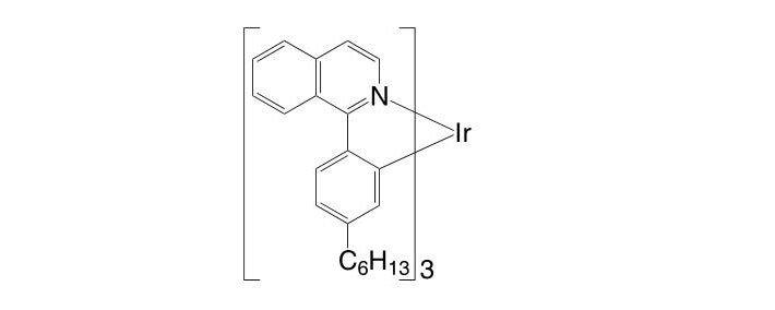 Hex-Ir(piq)3 CAS 1240249-29-9