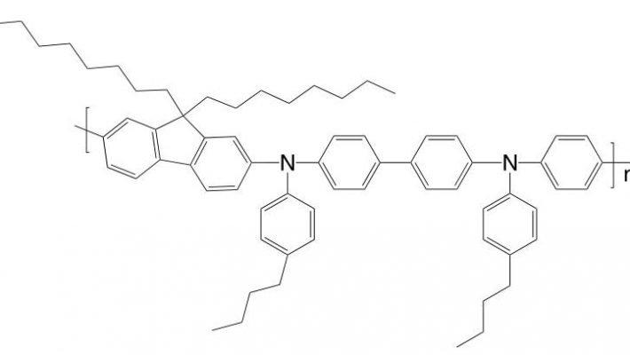 Poly[(9,9-dioctylfluorenyl-2,7-diyl)-alt-co-(N,N'-bis{4-butylphenyl}-benzidine-N,N'-{1,4-diphenylene})] CAS 223569-32-2