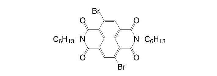 4,9-Dibromo-2,7-dihexylbenzo[lmn][3,8]phenanthroline-1,3,6,8-tetraone CAS 1239327-73-1